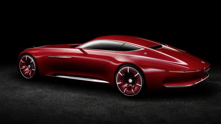 The Mercedes-Maybach Vision 6 Cabriolet is great