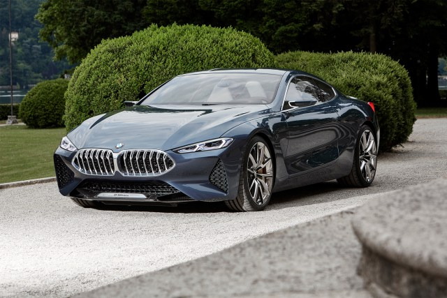 BMW Concept 8 series will be presented in North American in Monterey