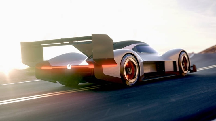 VW I.D. R electric racer