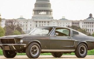 the original Bullitt Mustang
