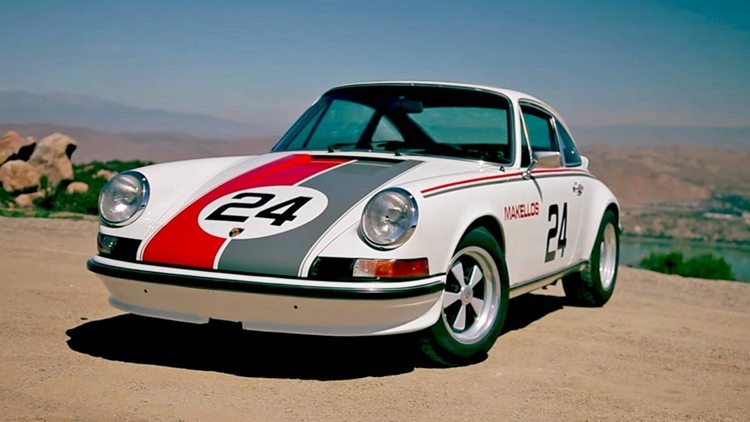 Porsche 911 2.7 RS tribute