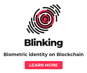 Blinking - Blockchain-based digital ID solution that gives users complete control over their data.