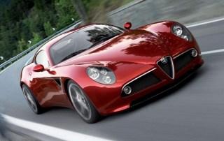 Alfa Romeo's new 8C