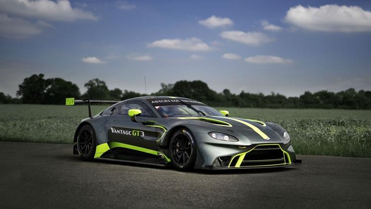 Aston Martins New Vantage GT Race Car Seems Really Angry - Aston martin vantage gt 2018