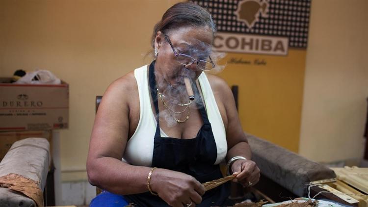 Cigar factory cuban