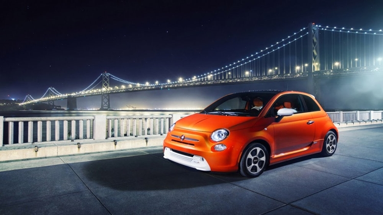 New electric Fiat 500e – Available in California and Oregon