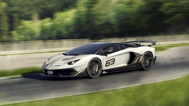 Lamborghini Aventador 2019 SVJ