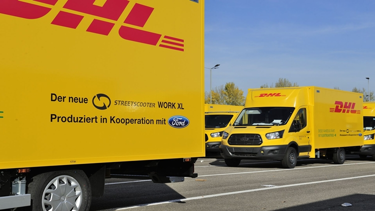 Ford DHL post