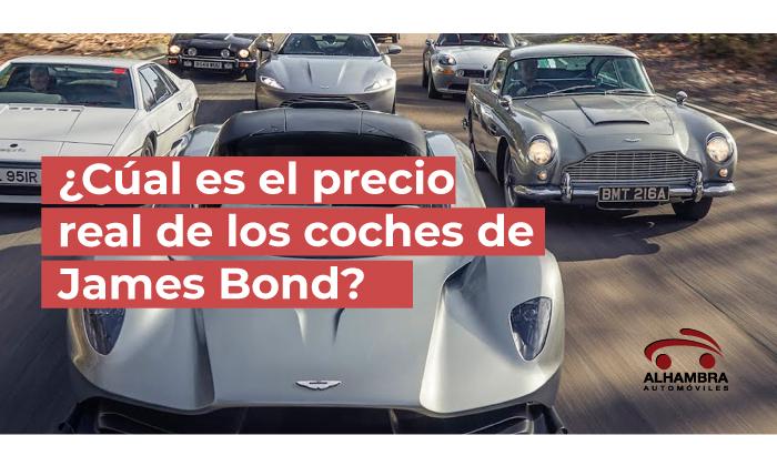 precio coches James Bond 2021