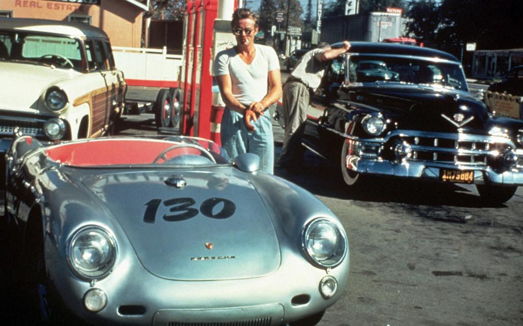 Pequeño Bastardo, el Porsche maldito de James Dean