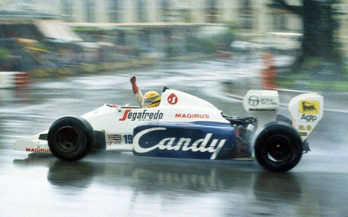 Toleman TG184 Ayrton Senna GP Mónaco 1984