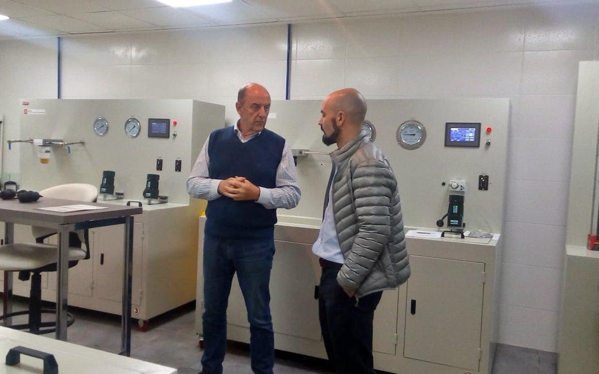 Empresarios de México y Chile visitaron las instalaciones de WEGA