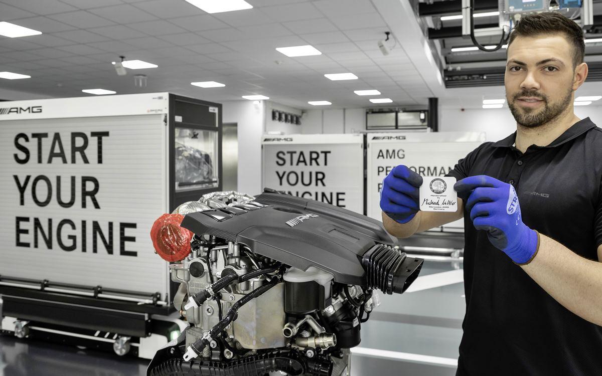 Mercedes-AMG produce el motor de cuatro cilindros más potente del mundo