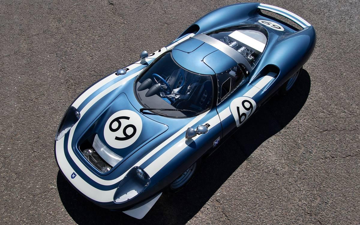 Ecurie Ecosse LM69: El mejor homenaje al Jaguar XJ13