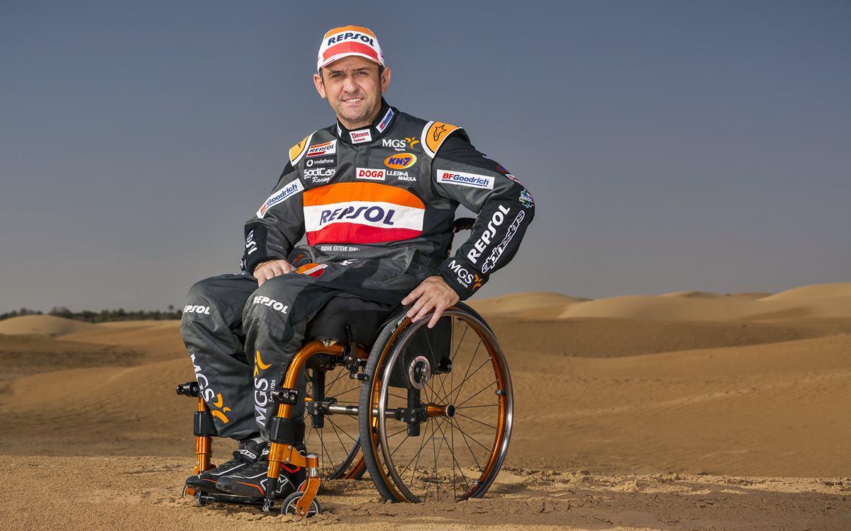 Isidre Esteve le apunta al Dakar 2020