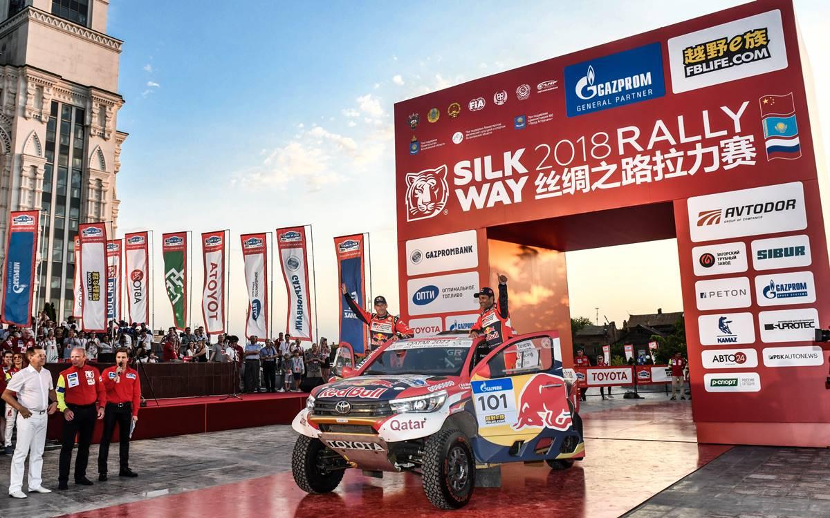 Un Silk Way Rally para la historia