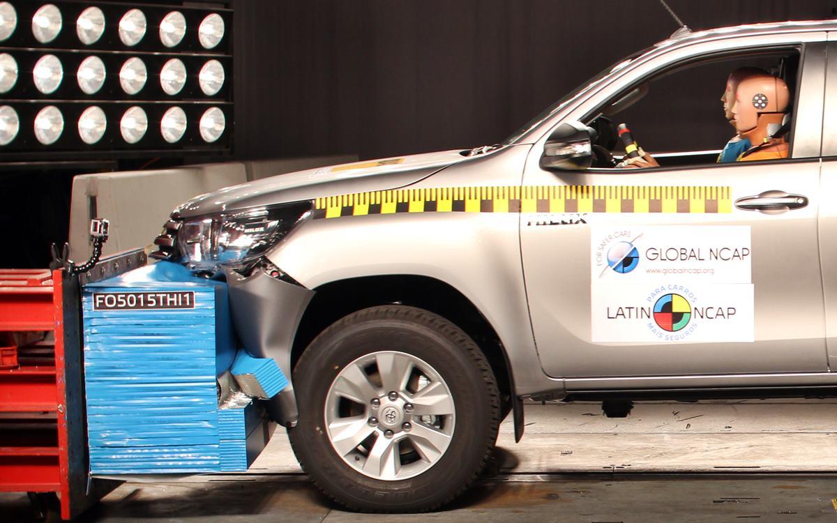 Toyota Hilux y SW4: Máxima calificación en las pruebas Latin NCAP