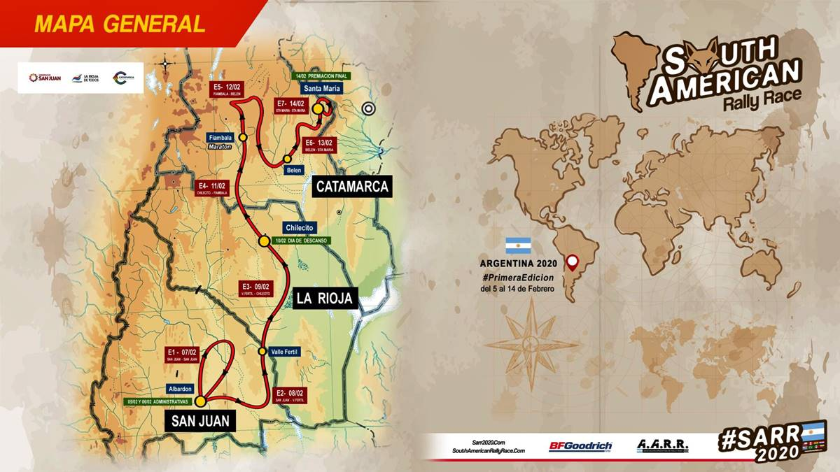South American Rally Race: Tras los pasos del Dakar