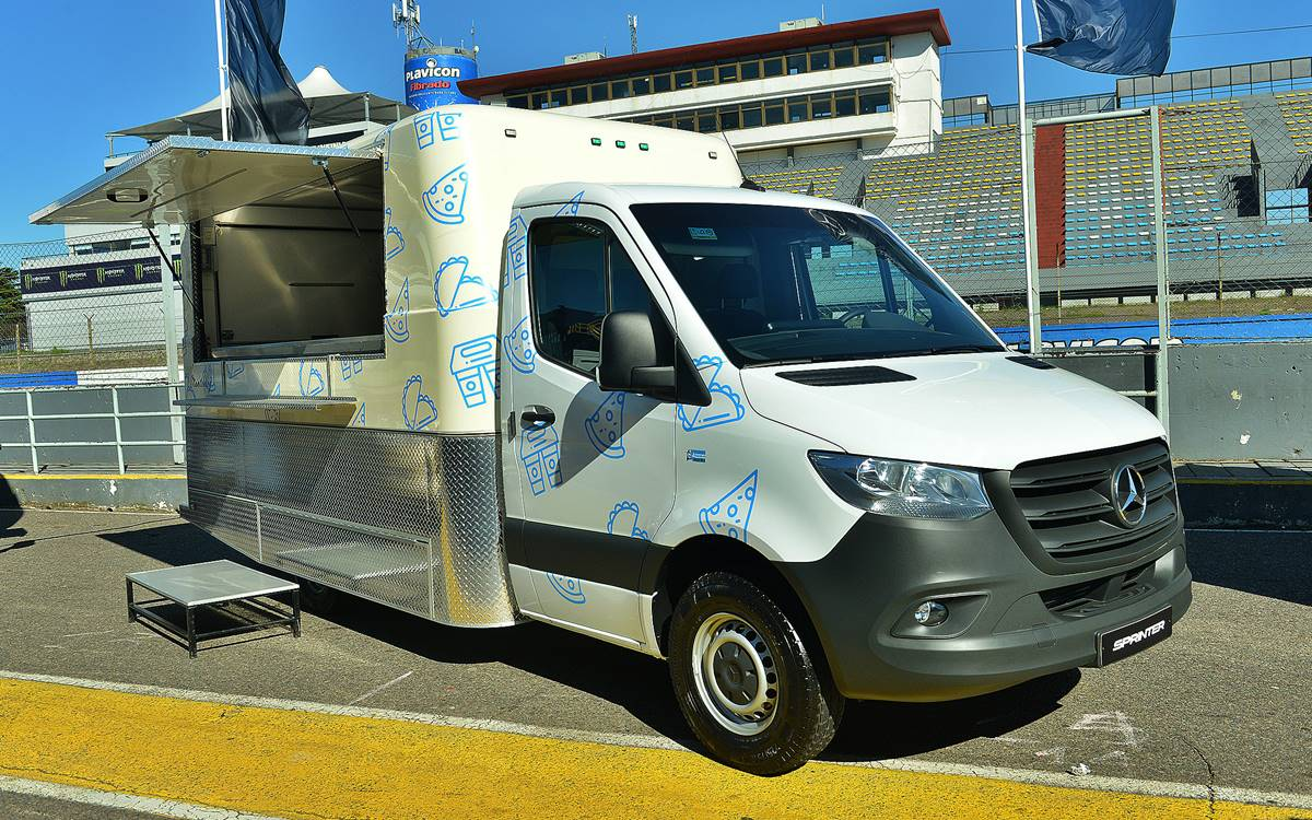 Mercedes-Benz Sprinter Food Truck