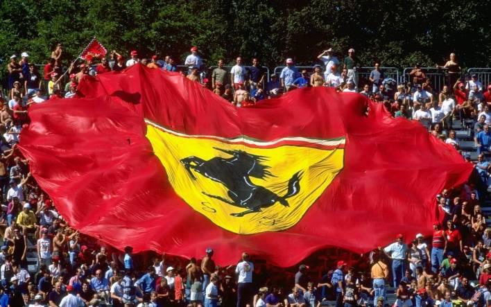 Ferrari bandera