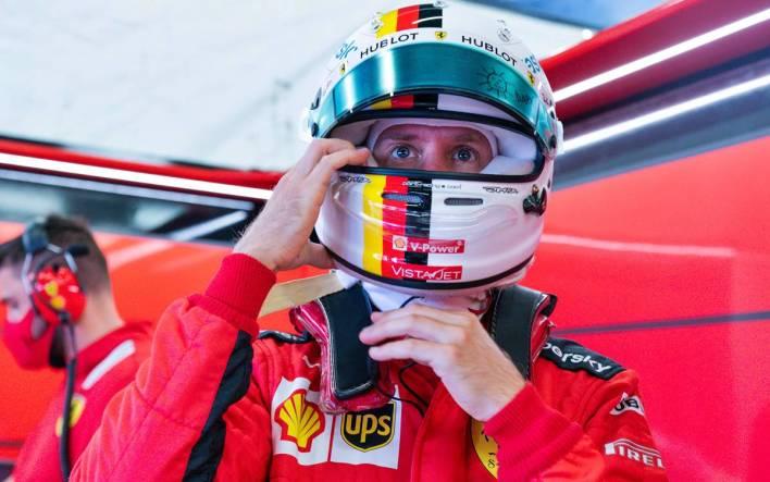 Sebastian Vettel Silverstone