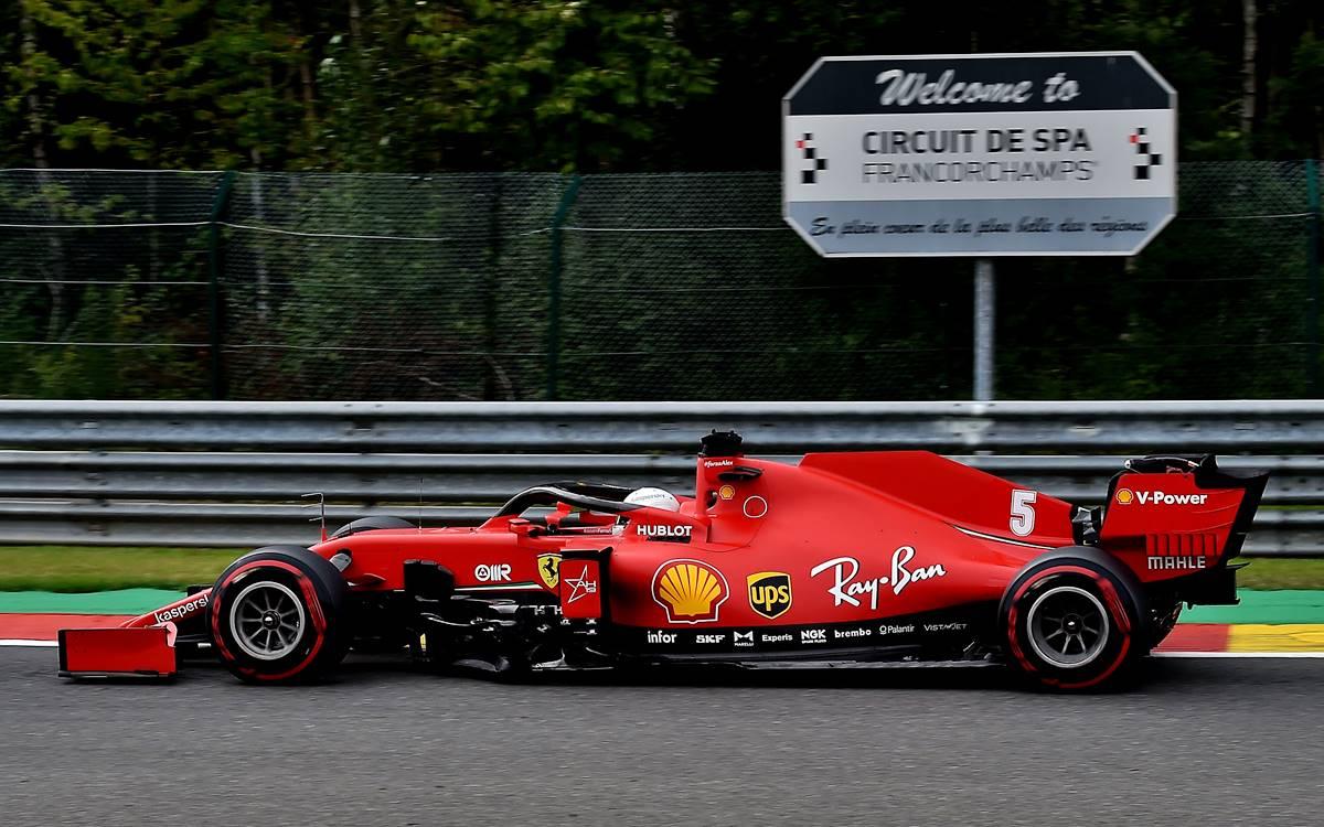 Ferrari Bélgica 2020