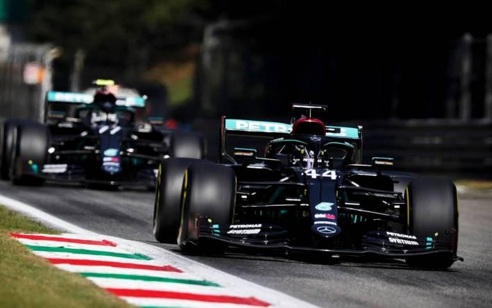 Lewis Hamilton GP de Italia 2020