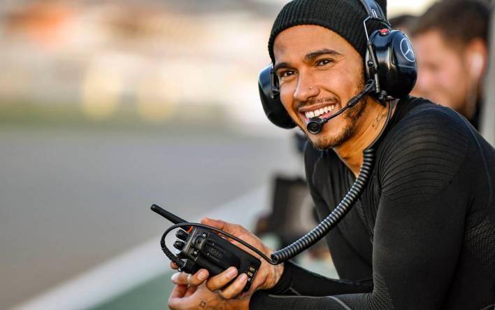 Lewis Hamilton and Valentino Rossi - Valencia #LH44VR46