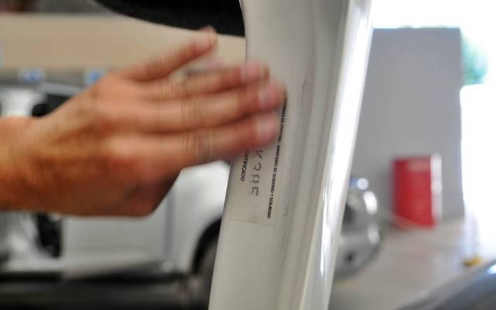 Auto parts engraving