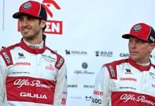Photo of Kimi Raikkonen y Antonio Giovinazzi, pilotos Alfa Romeo para 2021