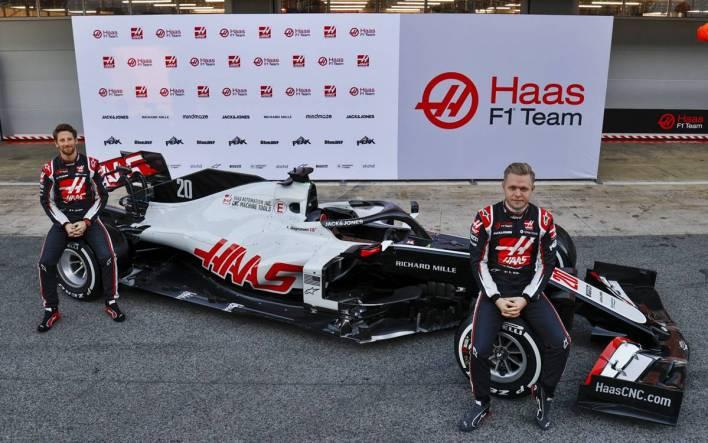 Romain Grosjean y Kevin Magnussen