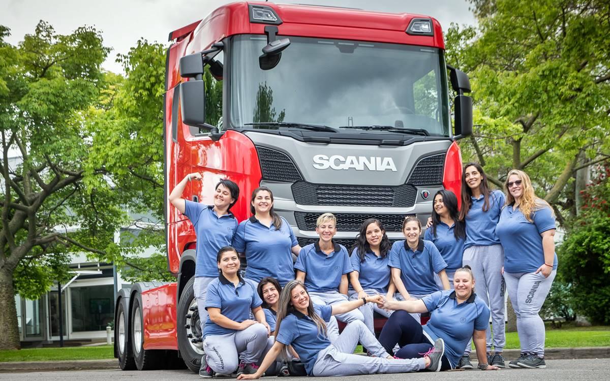 Conductoras Scania