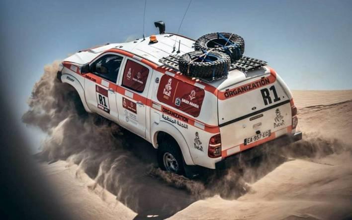 Reconocimiento Dakar 2021