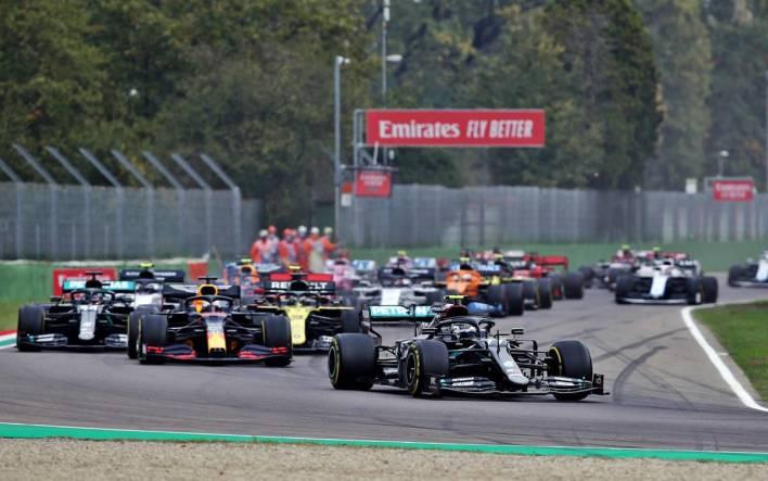 Largada GP de Emilia Romagna