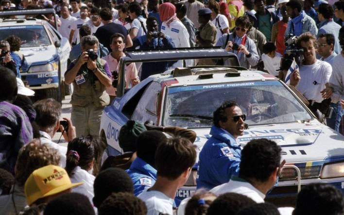 Ari Vatanen Dakar 1988
