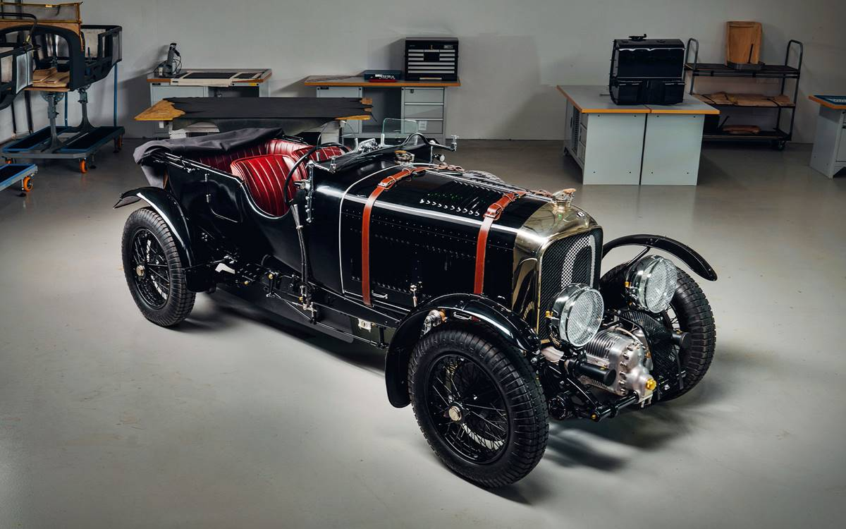 Bentley Blower Continuation