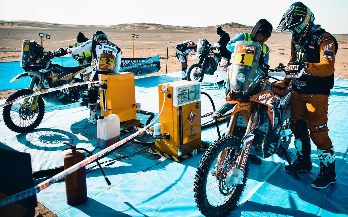 Combustible Dakar