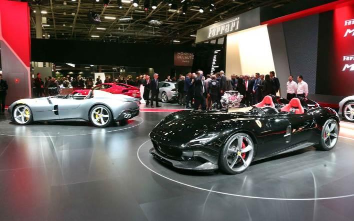 Ferrari Monza SP1 y SP2