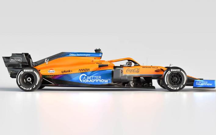 McLaren MCL35M-Mercedes 2021