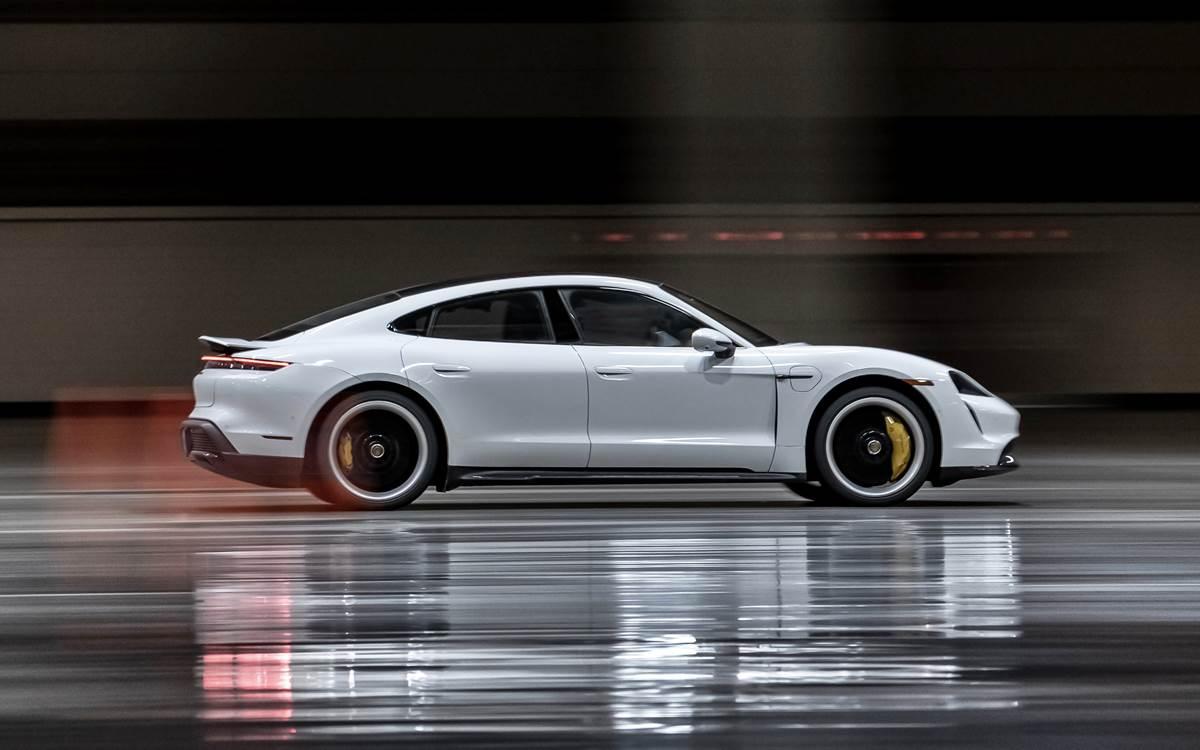 Porsche Taycan Record