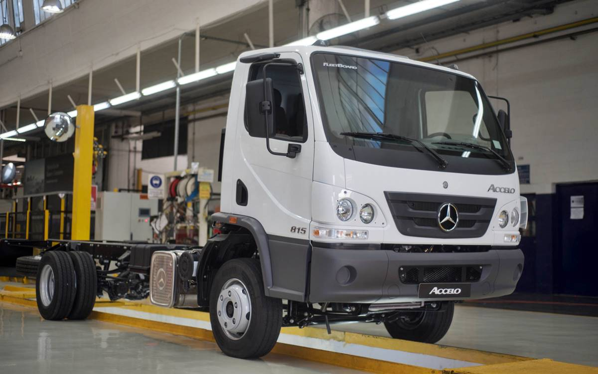 Mercedes-Benz Accelo National Automated