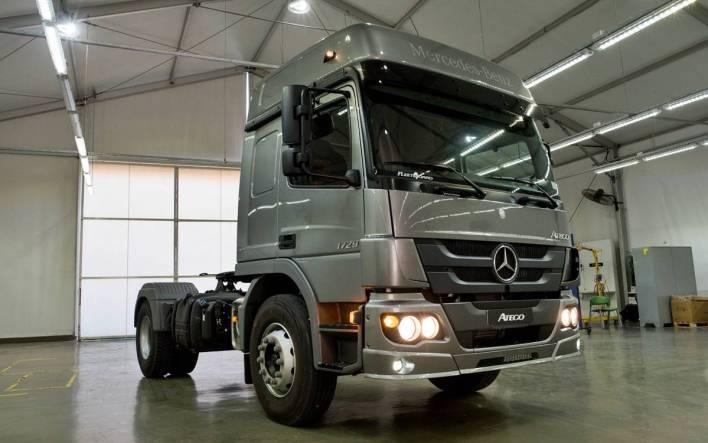 New Mercedes-Benz Atego 1729