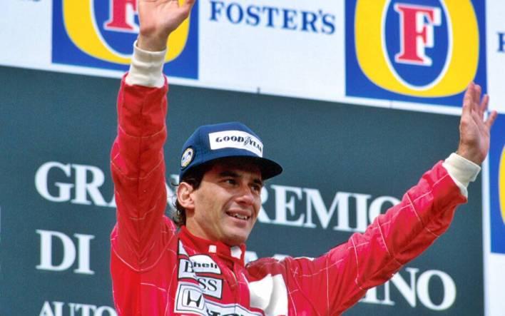 Ayrton Senna Imola 1991