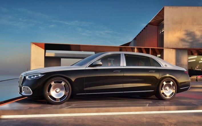 Mercedes-Maybach S-Class.