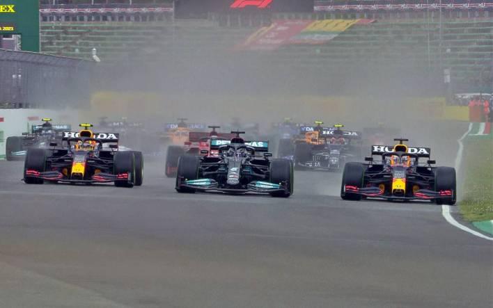 Largada Gran Premio de Emilia Romagna 2021
