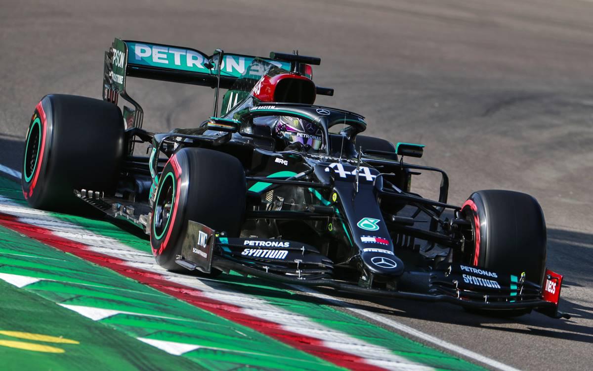 Lewis Hamilton Imola 2020