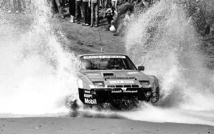 Walter Röhrl Porsche 924 Carrera GTS Rally