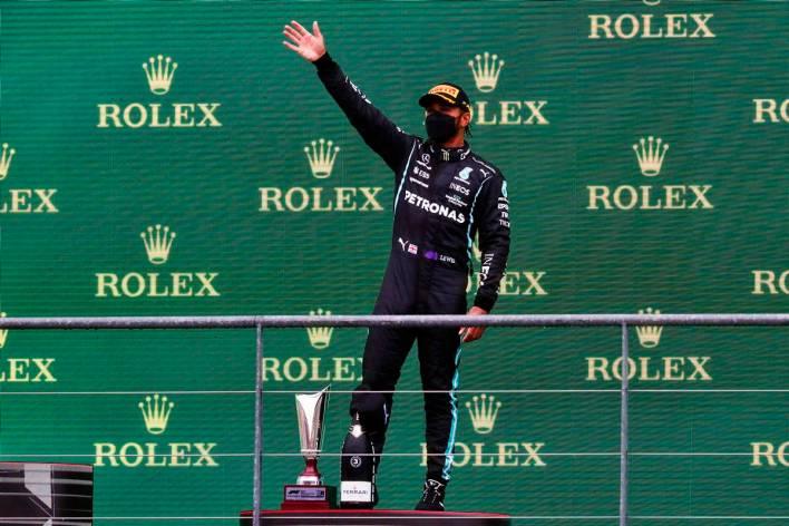 Lewis Hamilton Bélgica 2021
