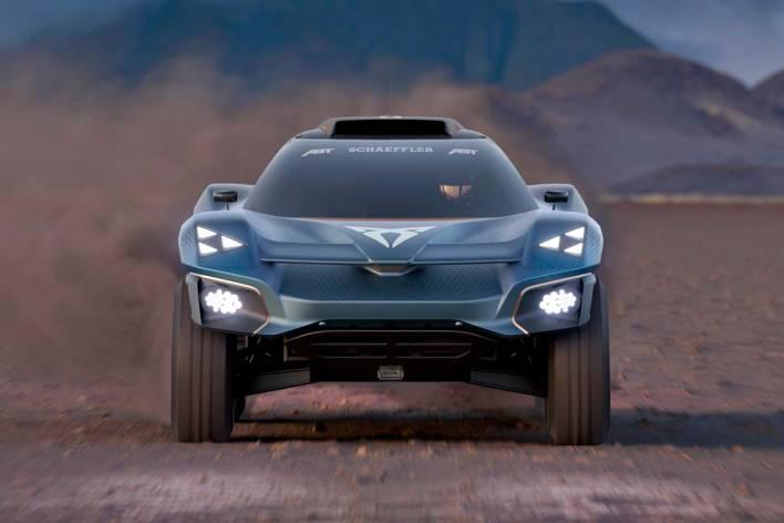 Cupra Tavascan Extreme E Concept