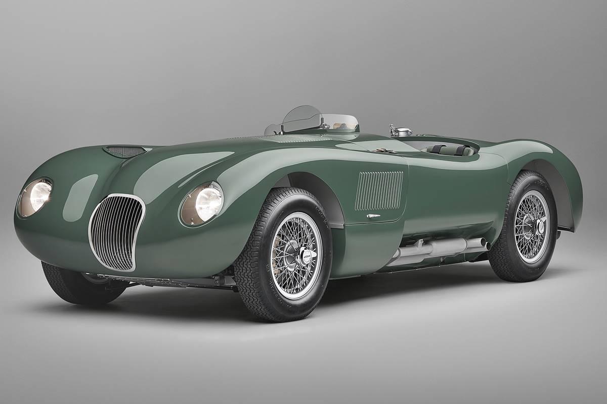 Jaguar C-Type 2021
